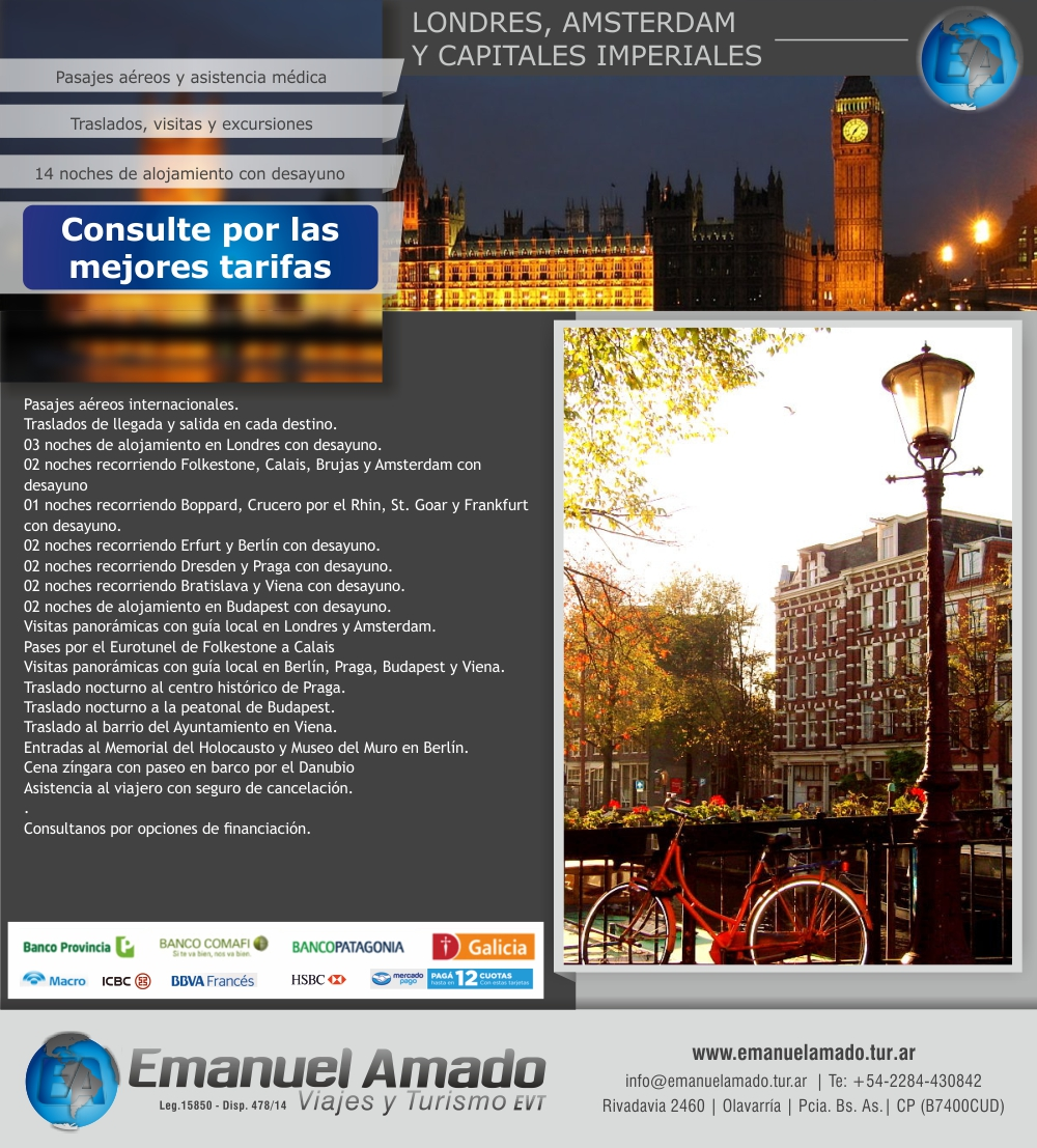Londres Amsterdam y Capitales imperiales 2